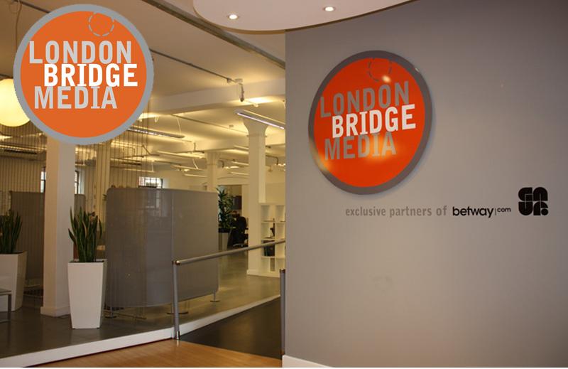 London Bridge media brand design
